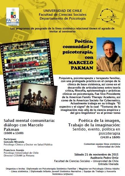 Seminario Marcelo Pakman 2015